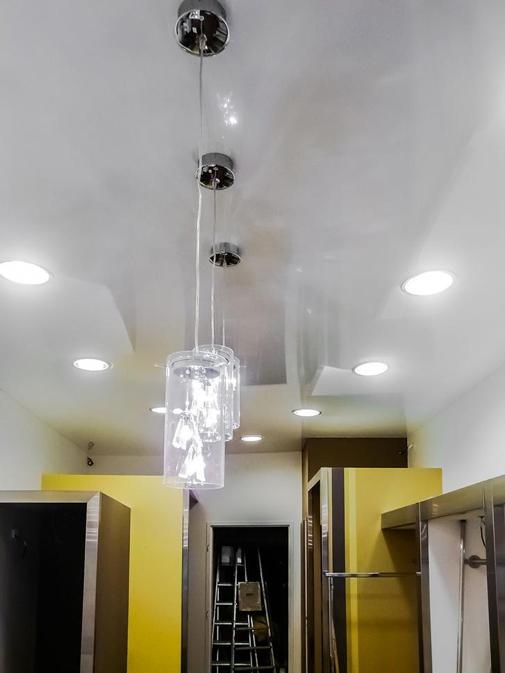 Plafond tendu local technique